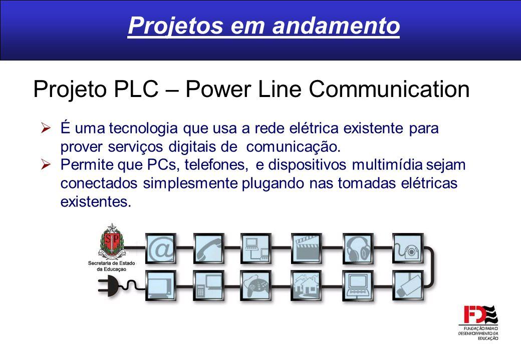 É uma tecnologia que usa a rede elétrica existente para prover serviços digitais de comunicação. Permite que PCs, telefones, e dispositivos multimídia