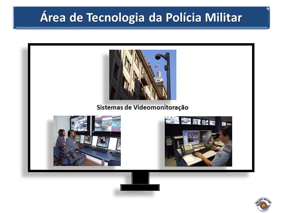 Área de Tecnologia da Polícia Militar Sistemas de Videomonitoração