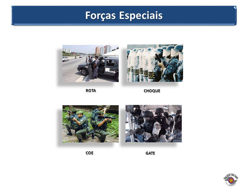 Forças Especiais ROTA COE GATE CHOQUE