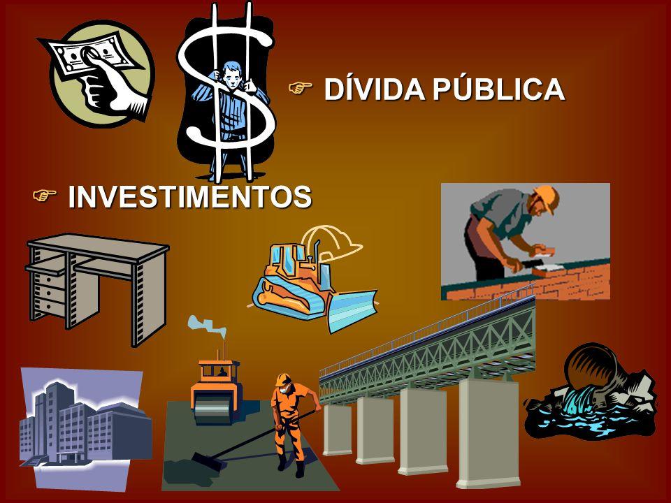 D DD DÍVIDA PÚBLICA I II INVESTIMENTOS