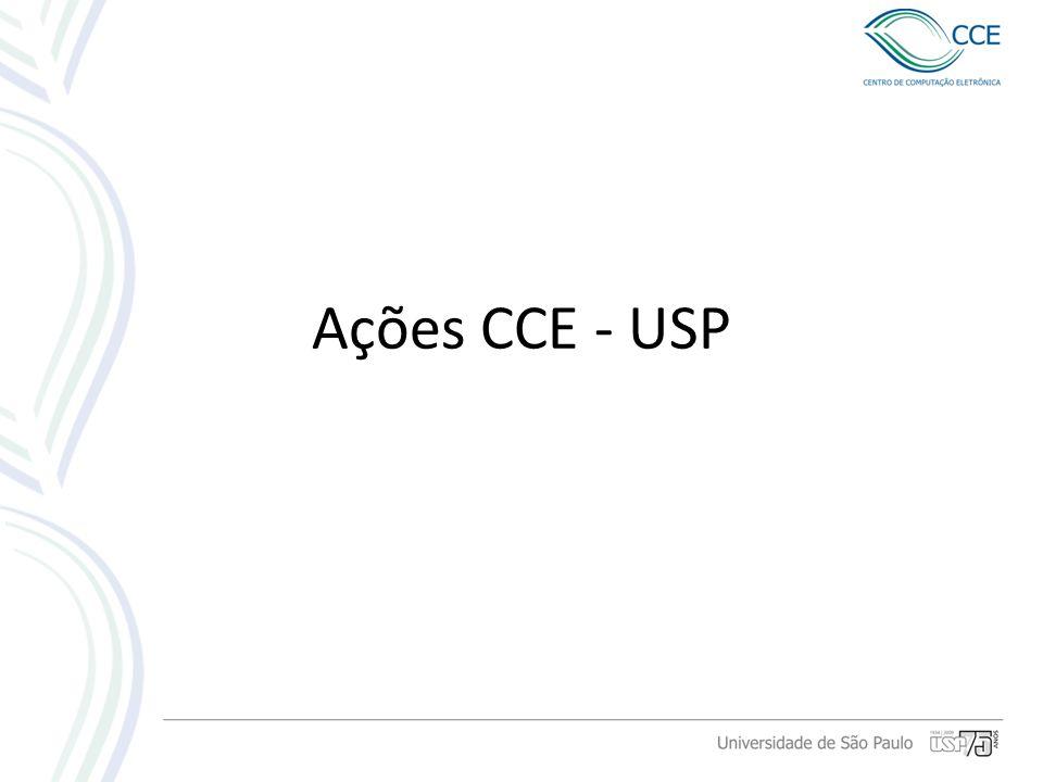 Ações CCE - USP