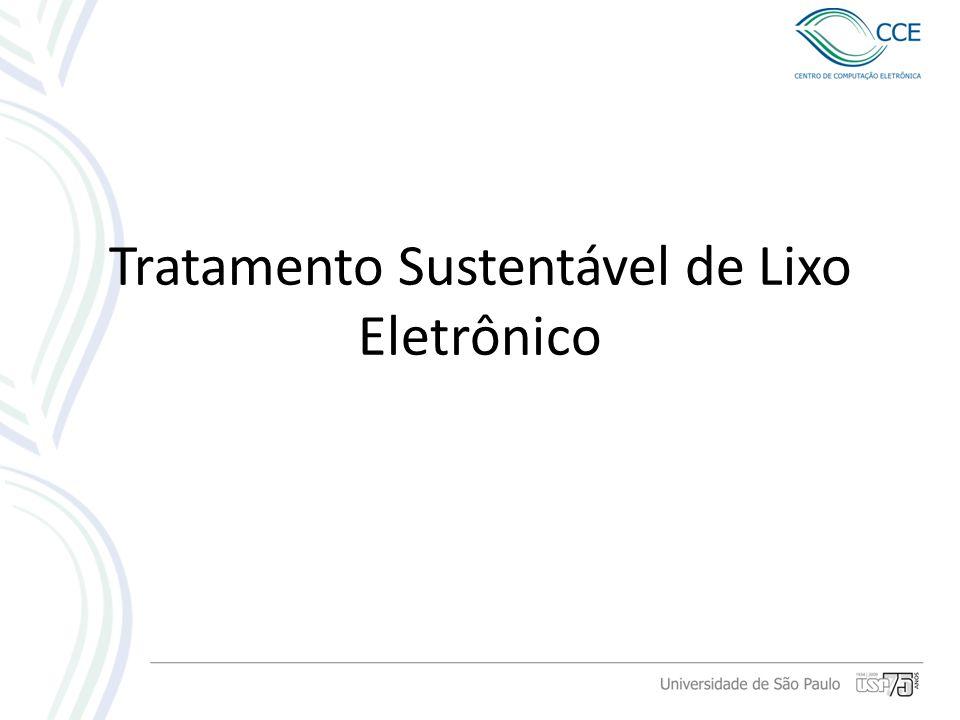 Tratamento Sustentável de Lixo Eletrônico