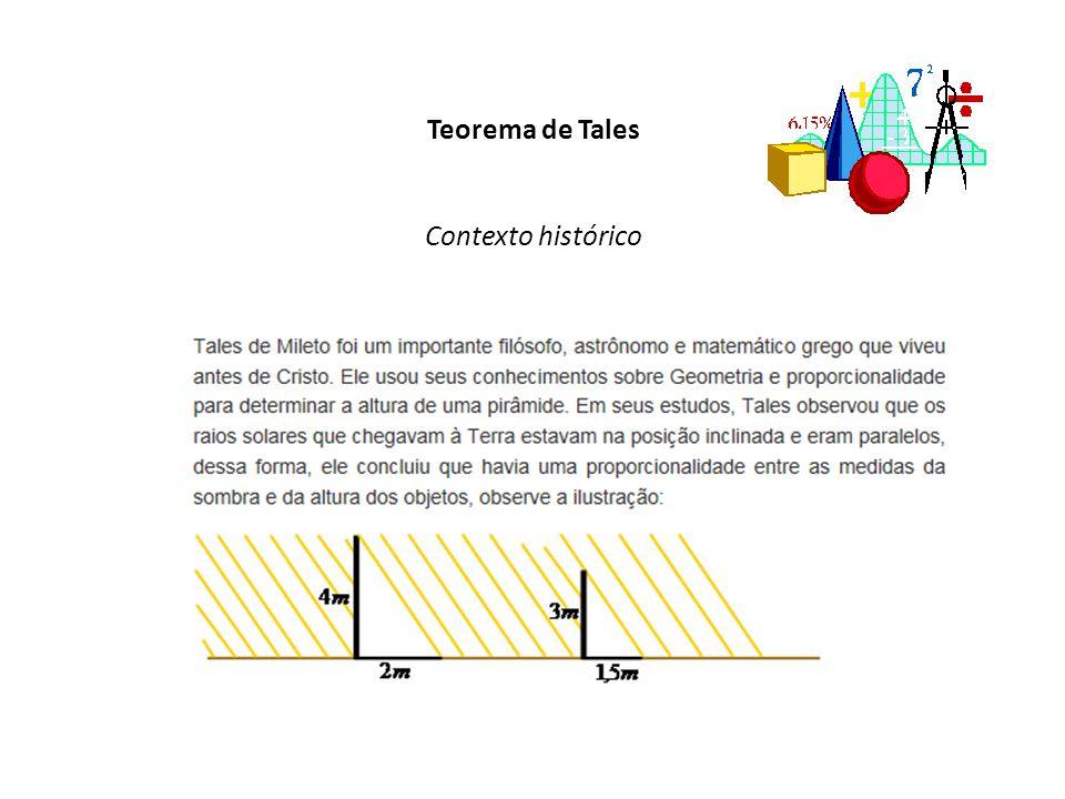 Teorema de Tales Contexto histórico