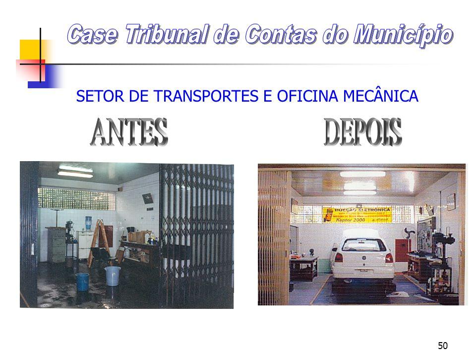 49 SETOR DE TRANSPORTES E OFICINA MECÂNICA