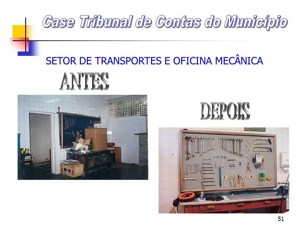 50 SETOR DE TRANSPORTES E OFICINA MECÂNICA
