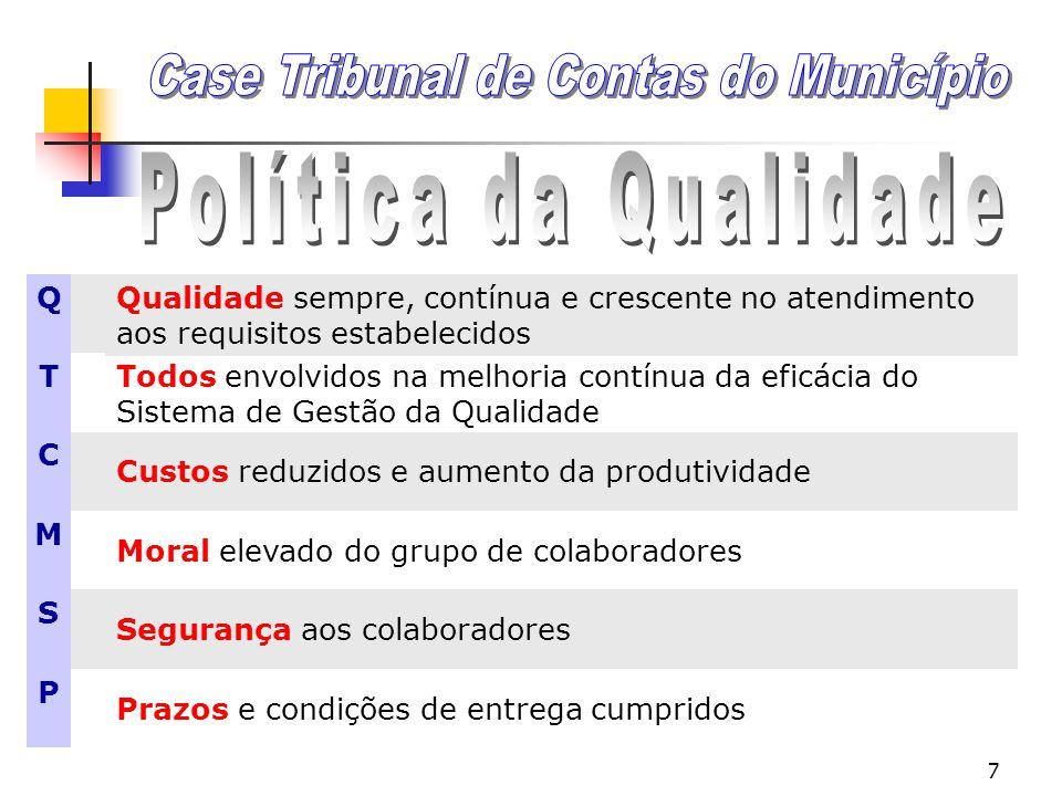 6 MISSÃO Fiscalizar a gestão dos recursos públicos do Município de São Paulo, com o fim de assegurar que os mesmos sejam arrecadados, aplicados ou uti