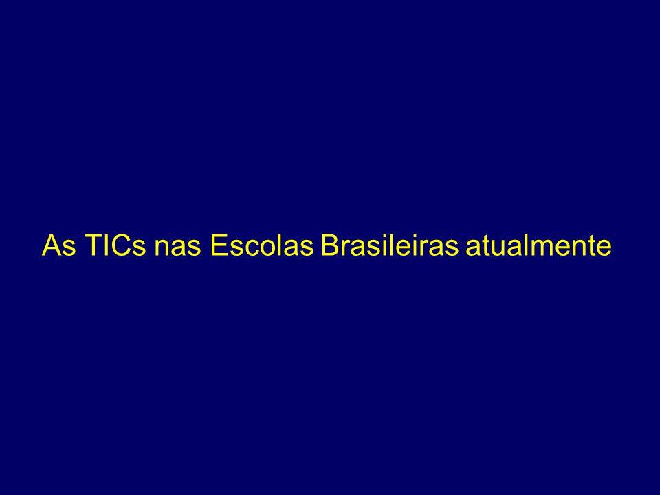 As TICs nas Escolas Brasileiras atualmente