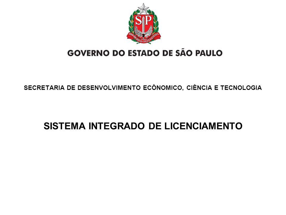 SISTEMA INTEGRADO DE LICENCIAMENTO TREINAMENTO CONTADORES