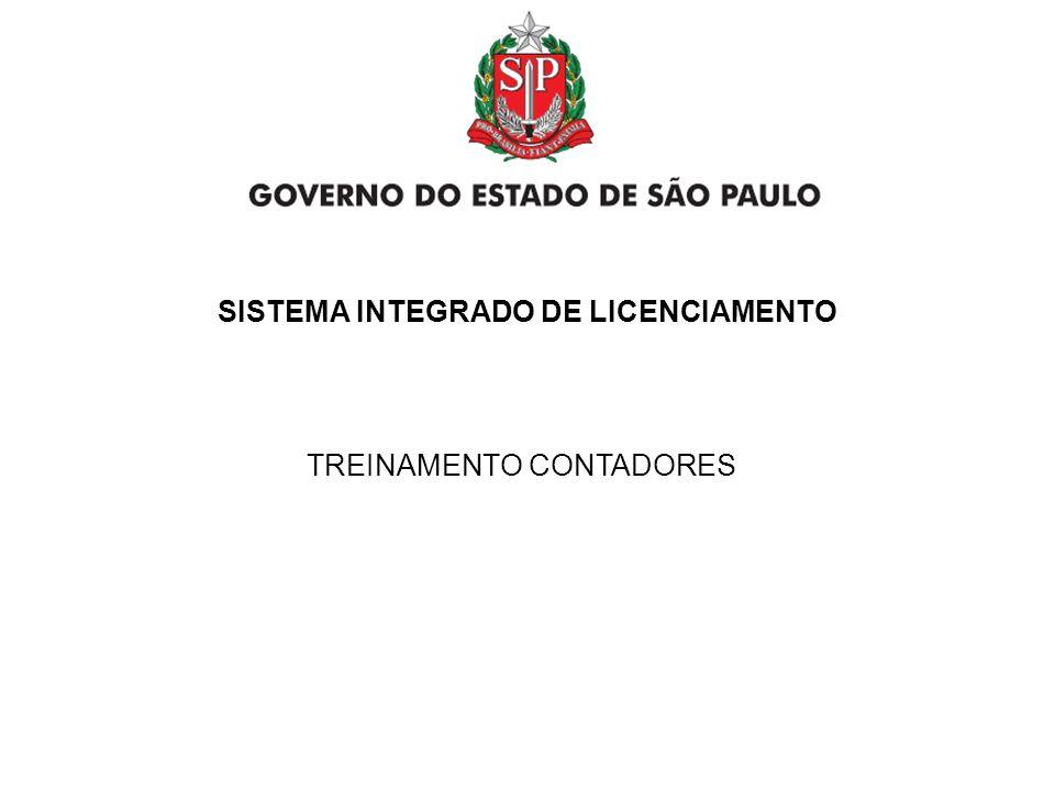 GOVERNO DO ESTADO DE SÃO PAULO ACESSO PERFIL EMPREENDEDOR/CONTADOR Solicitar Licenciamento ACESSO PERFIL EMPREENDEDOR/CONTADOR Solicitar Licenciamento SECRETARIA DE DESENVOLVIMENTO ECONÔMICO, CIÊNCIA E TECNOLOGIA