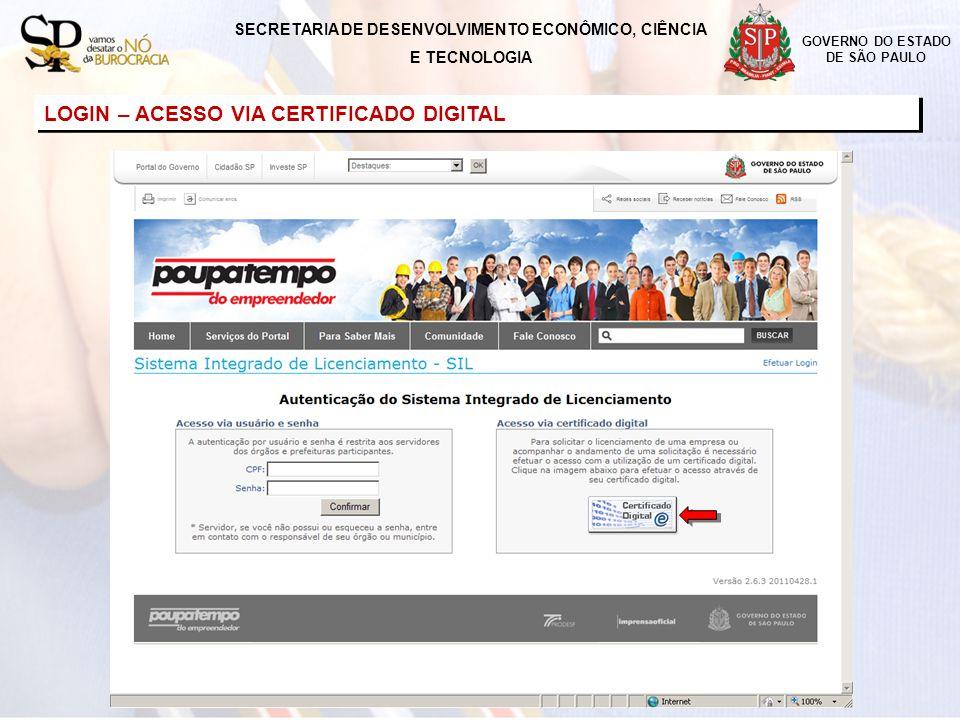 GOVERNO DO ESTADO DE SÃO PAULO MENU – SOLICITAR LICENCIAMENTO SECRETARIA DE DESENVOLVIMENTO ECONÔMICO, CIÊNCIA E TECNOLOGIA Preenchimento de declarações