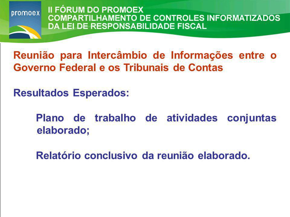 Promoex 1.5. Resultado Primário estabelecido na LDO - Art. 4 §1º e Art. 9º LRF II FÓRUM DO PROMOEX Reunião para Intercâmbio de Informações entre o Gov
