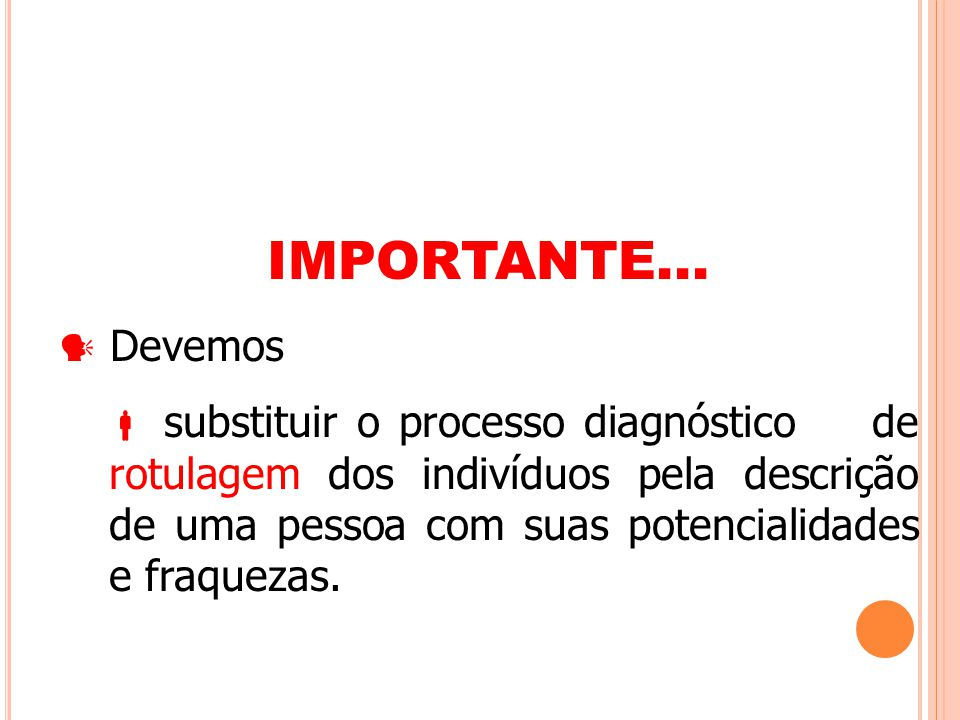 IMPORTANTE...