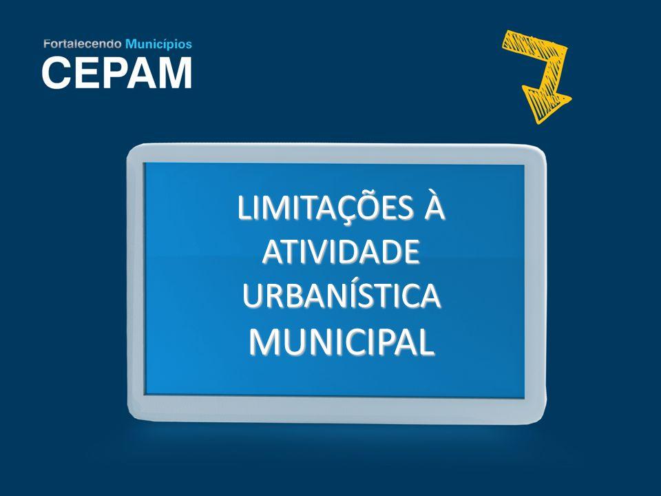 ATIVIDADE URBANÍSTICA Consiste na ação destinada a realizar os fins do urbanismo (José Afonso da Silva) Fases: 1.