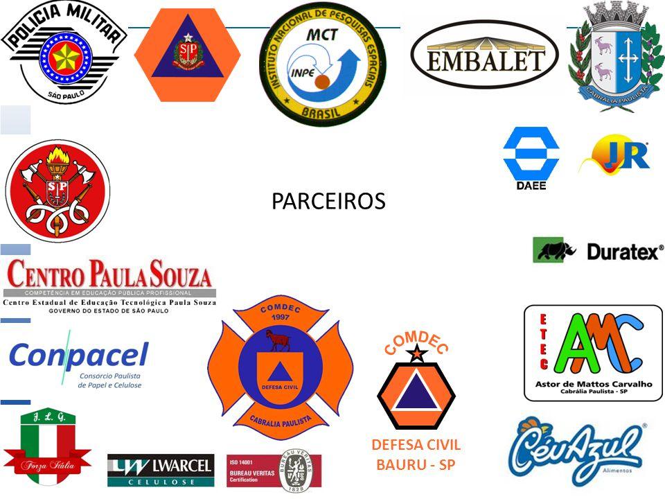 DEFESA CIVIL BAURU - SP PARCEIROS
