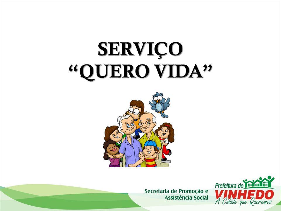 Organograma GERÊNCIA DE PROTEÇÃO SOCIAL ESPECIAL MÉDIA COMPLEXIDADE SERVIÇO DE PROTEÇÃO SOCIAL ESPECIAL A IDOSOS E SUAS FAMÍLIAS QUERO VIDA