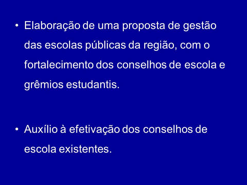 O 3º Seminário (2002) examinou as propostas, agrupadas em três eixos: a)orientação da educação para necessidades básicas; b) participação da comunidade; c) oferta de serviços educacionais.