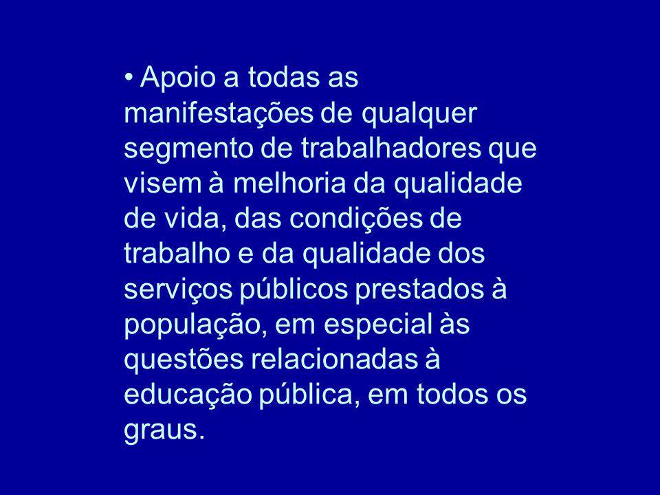 4º Seminário Compromisso dos órgãos públicos e organizações da sociedade civil, escolhendo as propostas de ação pelas quais assumem responsabilidade direta e para as quais atuarão a fim de torná-las realidade.