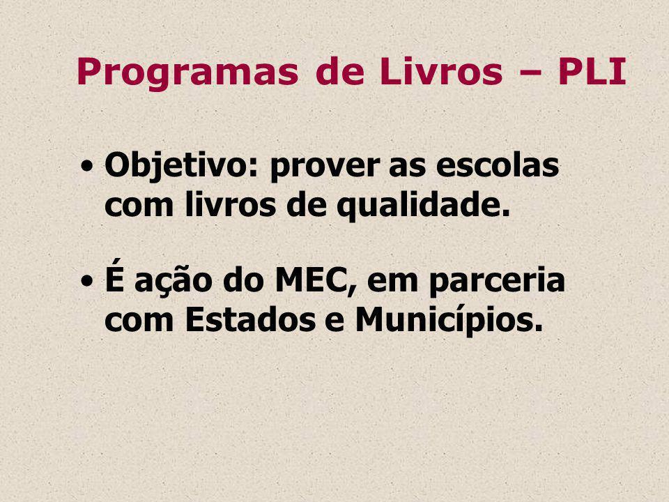 - Proposta Curricular e Programas da SEE/SP.- Projeto Pedagógico da escola.