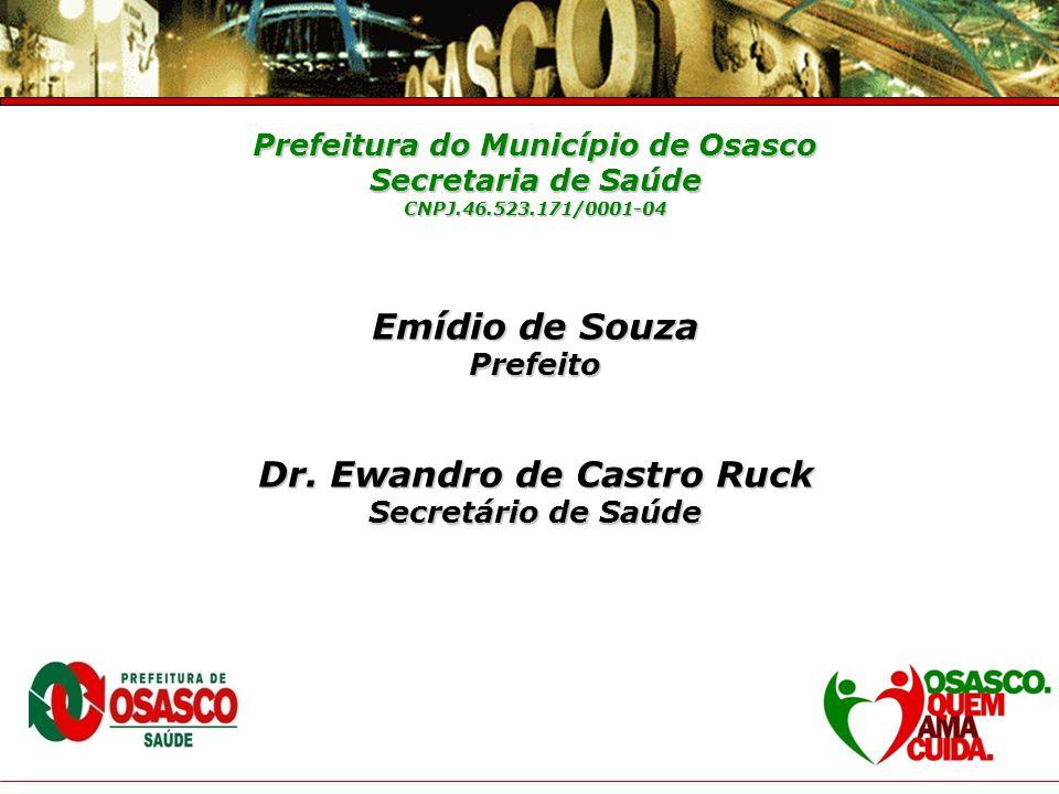 Prefeitura do Município de Osasco Secretaria de Saúde Prestação de Contas – 4° Trimestre 2007 Policlínica – Zona Sul Responsável : Dra.