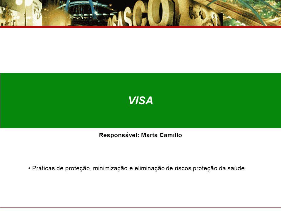 Prefeitura do Município de Osasco Secretaria de Saúde Prestação de Contas – 4° Trimestre 2007 VISA Responsável: Marta Camillo Práticas de proteção, mi