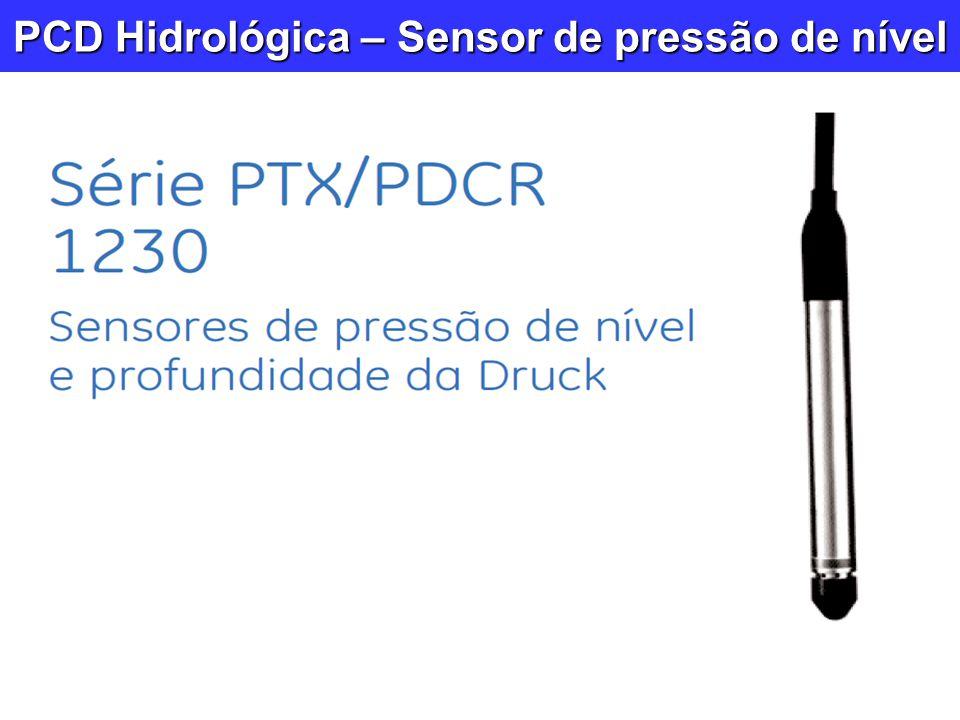PCD Hidrológica – Sensor de pressão de nível