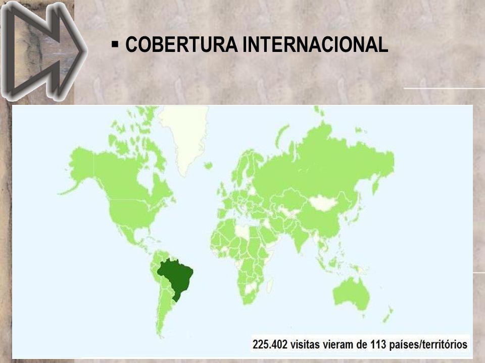 COBERTURA INTERNACIONAL