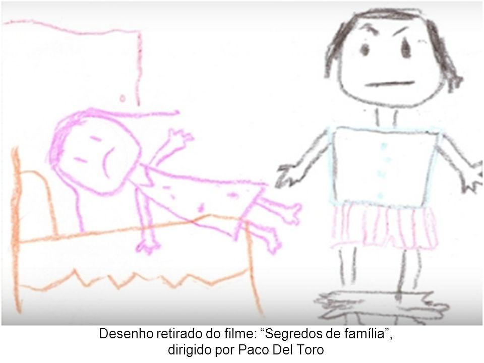 Desenho retirado do filme: Segredos de família, dirigido por Paco Del Toro
