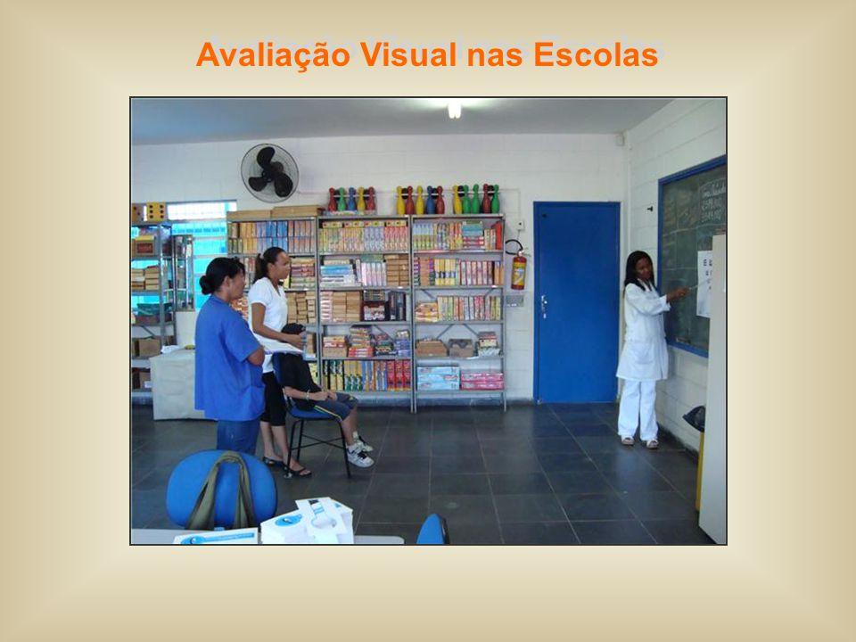 Avaliação Visual nas Escolas