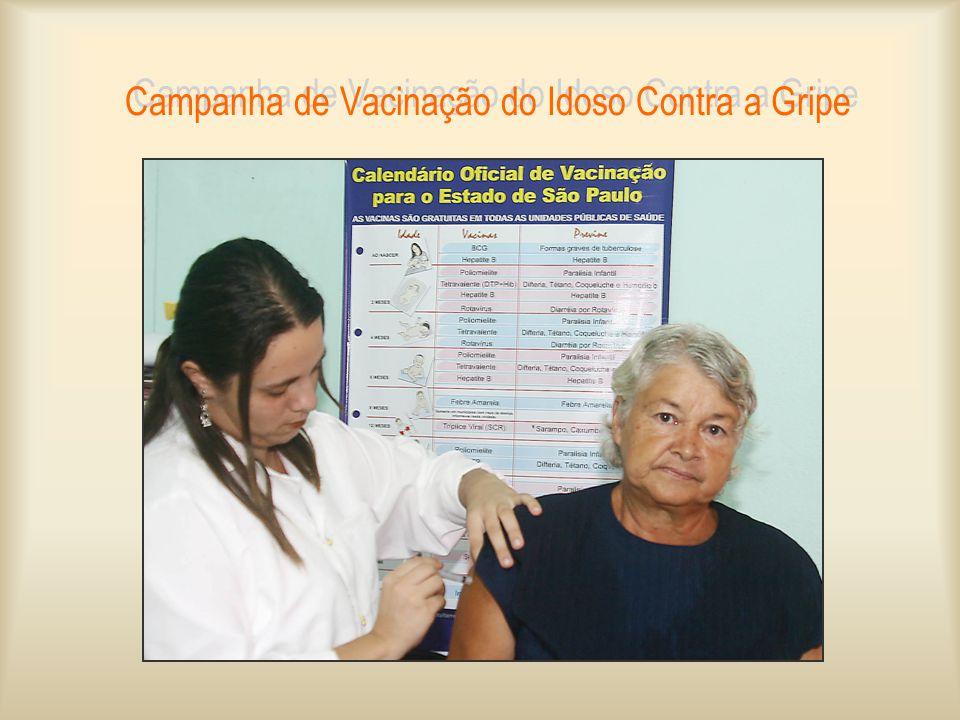 Campanha de Vacinação do Idoso Contra a Gripe