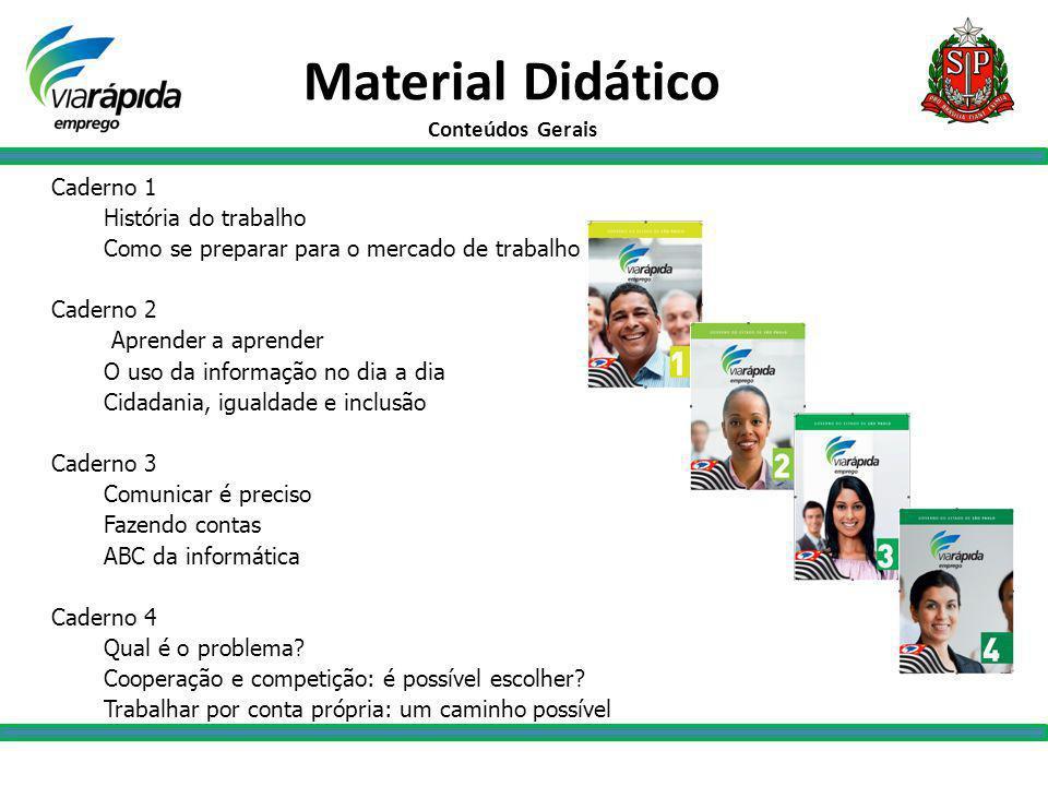 Definição dos Municípios O Via Rápida Emprego tem como pólos de qualificação municípios com mais de 100 mil habitantes, sedes de Região de Governo e/ou de Região Administrativa.