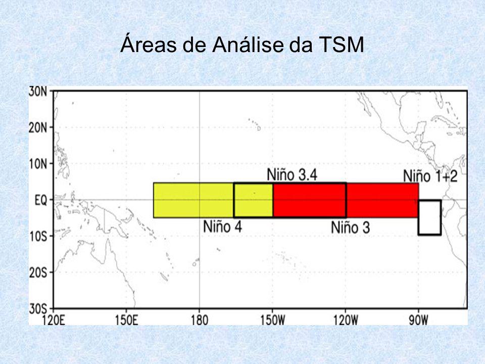 Áreas de Análise da TSM