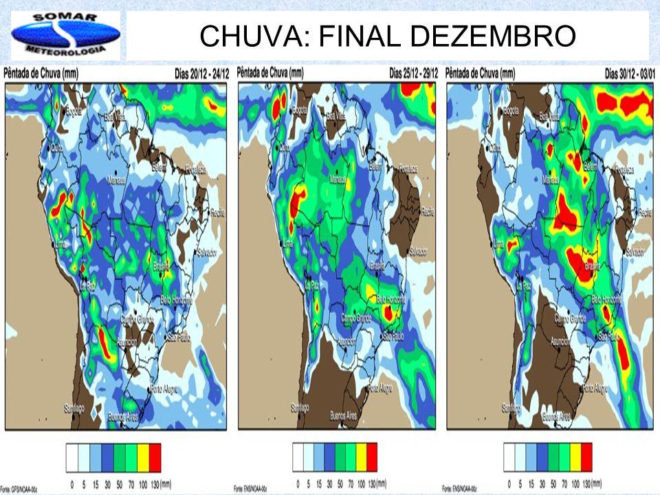CHUVA: FINAL DEZEMBRO