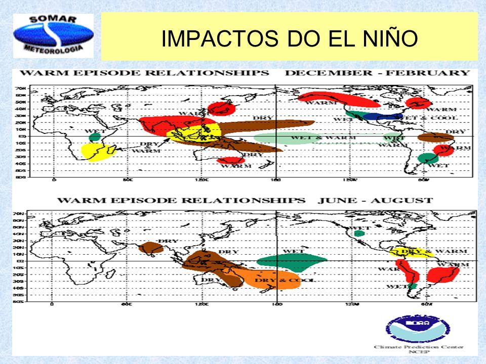 IMPACTOS DO EL NIÑO