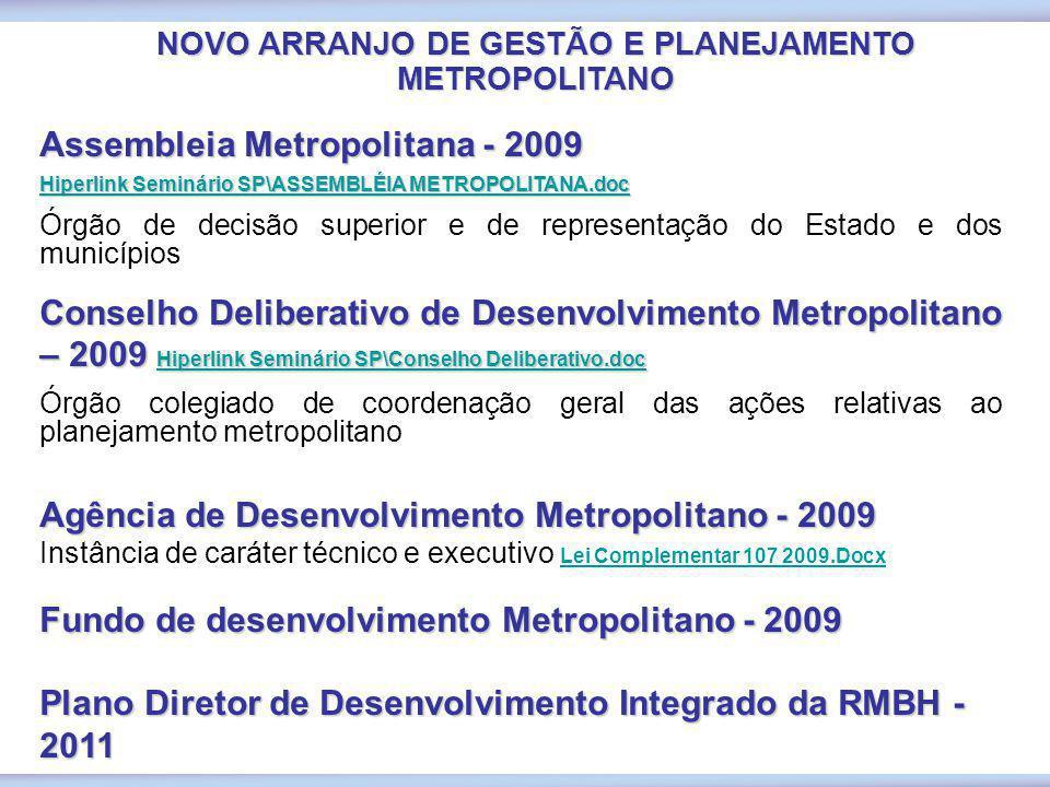Assembleia Metropolitana - 2009 Hiperlink Seminário SP\ASSEMBLÉIA METROPOLITANA.doc Hiperlink Seminário SP\ASSEMBLÉIA METROPOLITANA.doc Órgão de decis