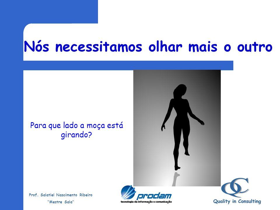 Prof. Salatiel Nascimento Ribeiro Mestre Sala O nosso Desafio é: Precisamos olhar mais o outro