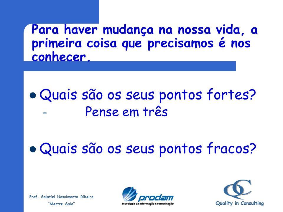 Prof. Salatiel Nascimento Ribeiro Mestre Sala 15 minutos