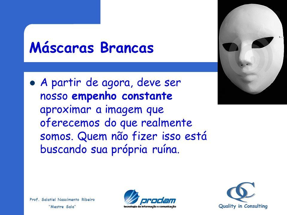 Prof. Salatiel Nascimento Ribeiro Mestre Sala Devemos deixar cair as nossas máscaras Vem 2