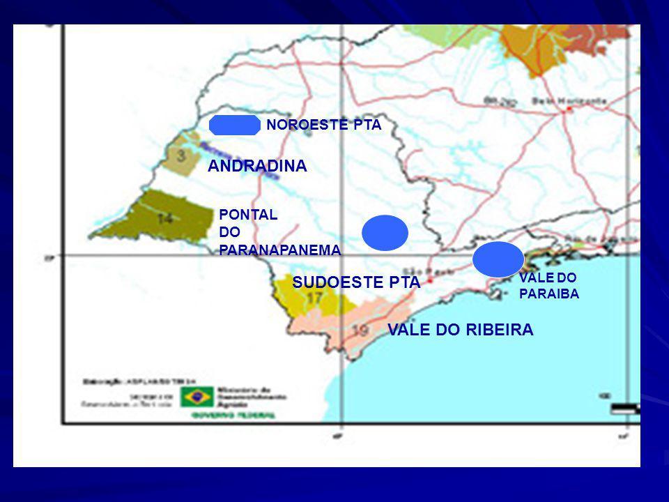 São Paulo Territórios Rurais 4 Municípios nos TR 83 População nos TR 1.517.036 (3,92% da região) Área dos TR (km2) 53.525 (21,51% da região) Densidade