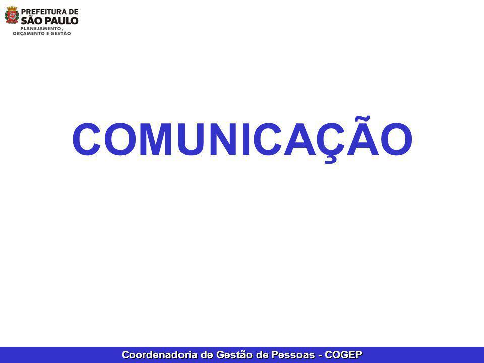 Coordenadoria de Gestão de Pessoas - COGEP COMUNICAÇÃO