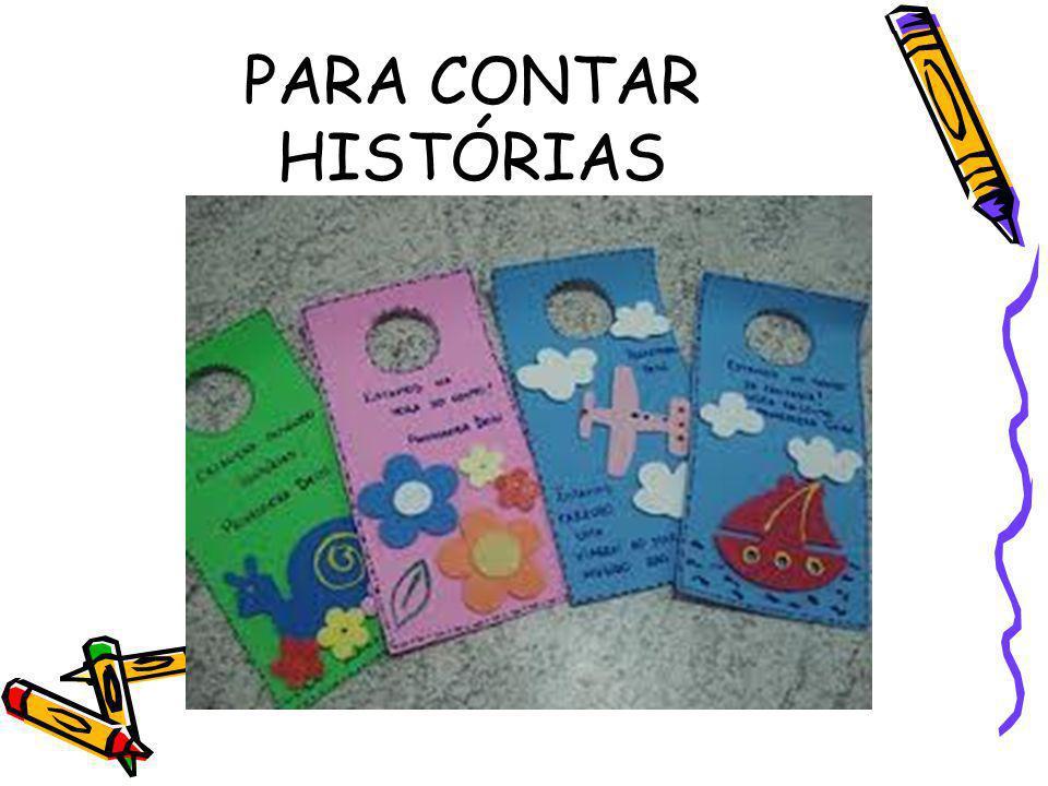 PARA CONTAR HISTÓRIAS