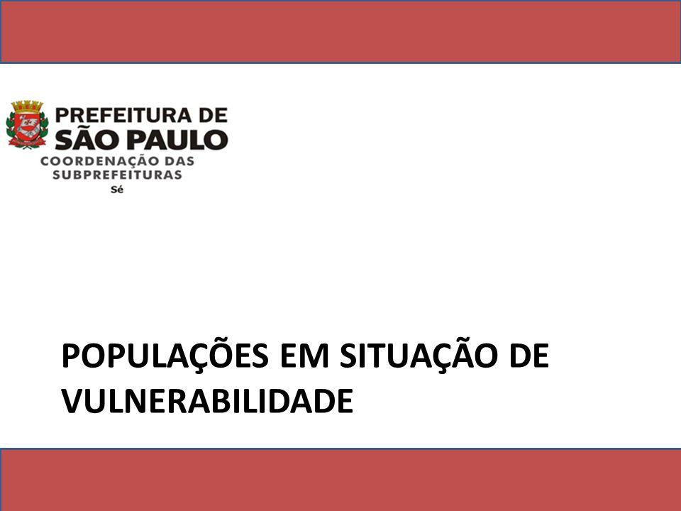 POPULAÇÕES EM SITUAÇÃO DE VULNERABILIDADE