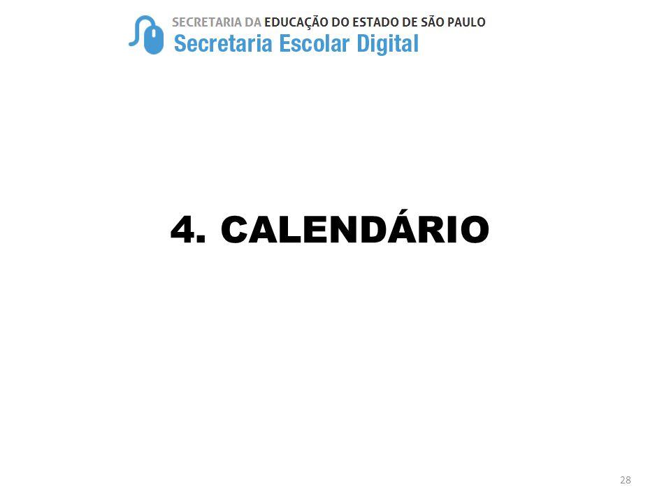 4. CALENDÁRIO 28