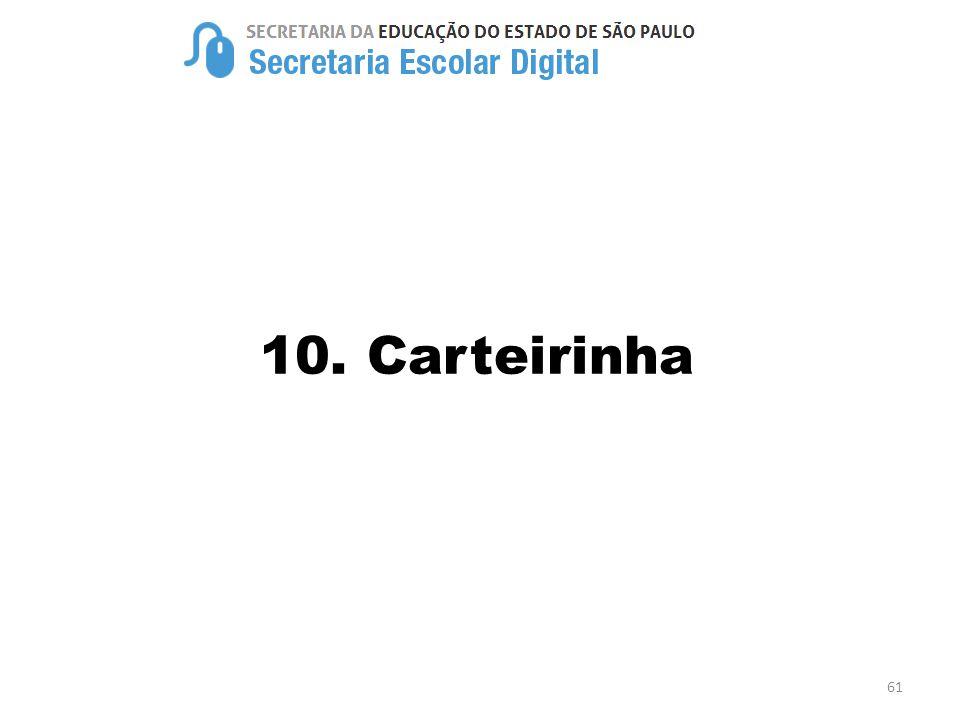 10. Carteirinha 61