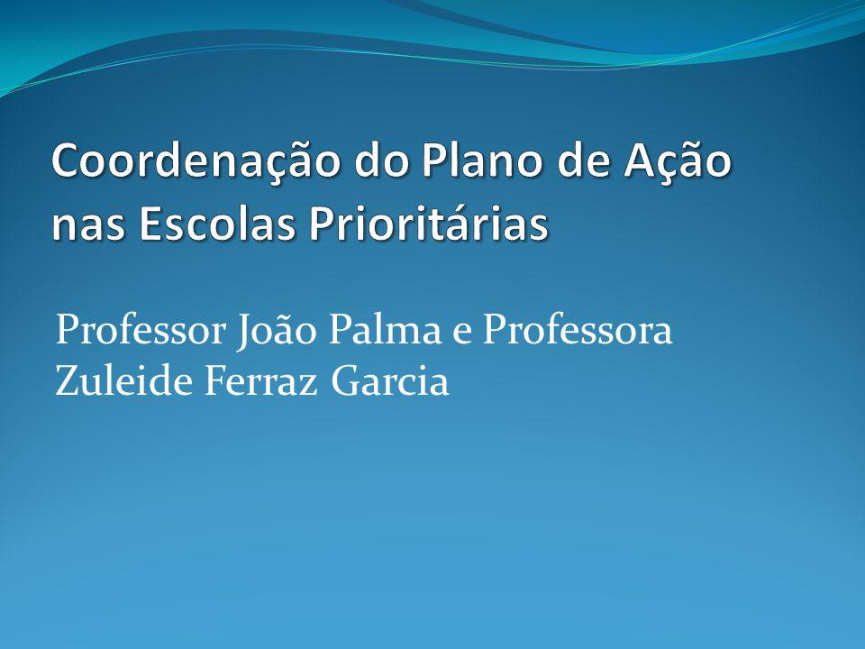 Professor João Palma e Professora Zuleide Ferraz Garcia