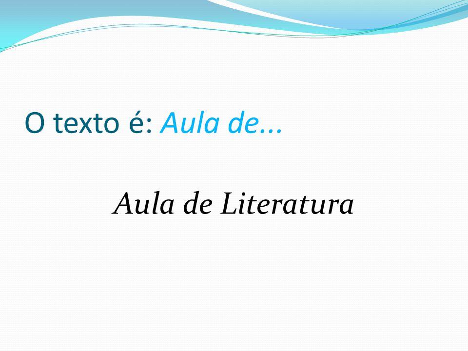 Atividade permanente! Leitura com compreensão Procedimentos De leitura Estratégias de leitura