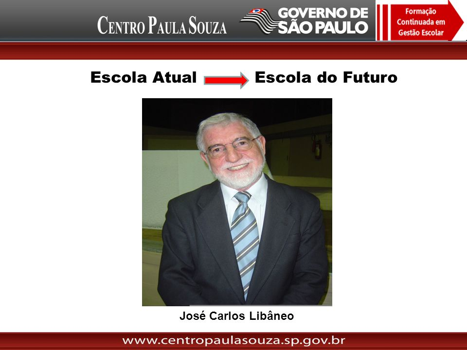 José Carlos Libâneo Escola Atual Escola do Futuro
