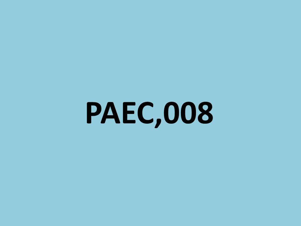 PAEC,008