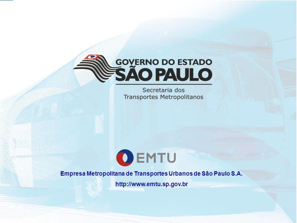 Empresa Metropolitana de Transportes Urbanos de São Paulo S.A. http://www.emtu.sp.gov.br