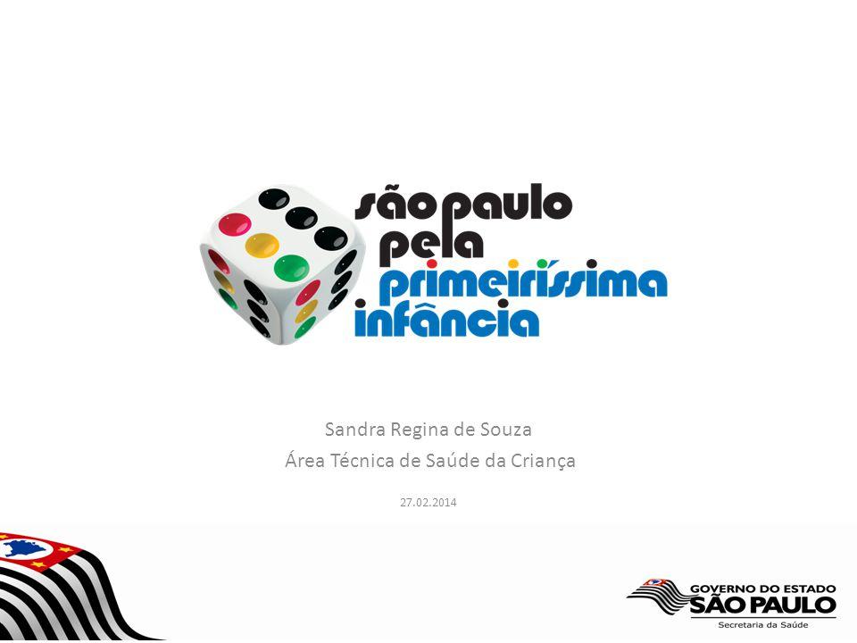 Sandra Regina de Souza Área Técnica de Saúde da Criança 27.02.2014