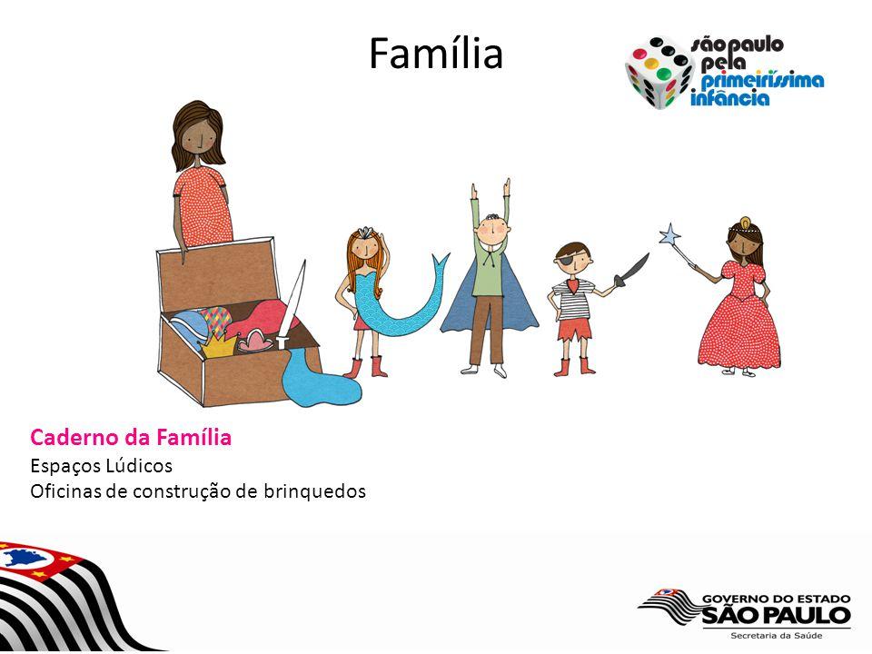 Família Caderno da Família Espaços Lúdicos Oficinas de construção de brinquedos